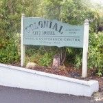 Colonial City Motel Signage